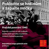 PIETNÍ MÍSTA k Pražskému povstání 1945